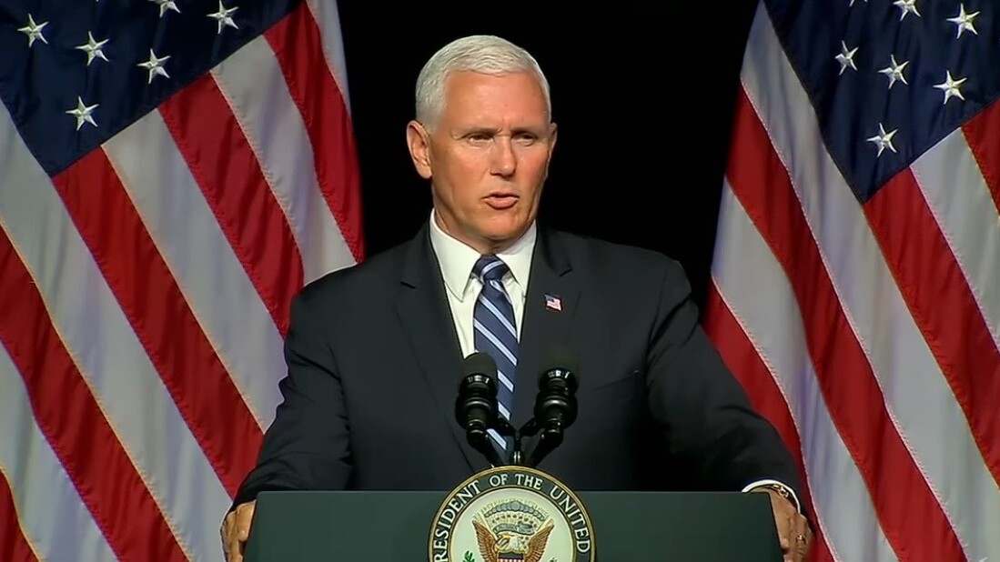 VP Mike Pence unveils detailed plans for Space Force
