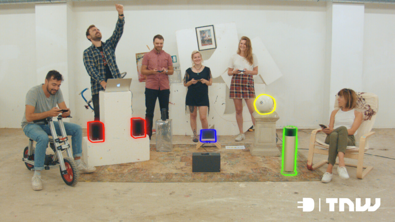 We played a symphony on bluetooth speakers instead of reviewing them like normal people