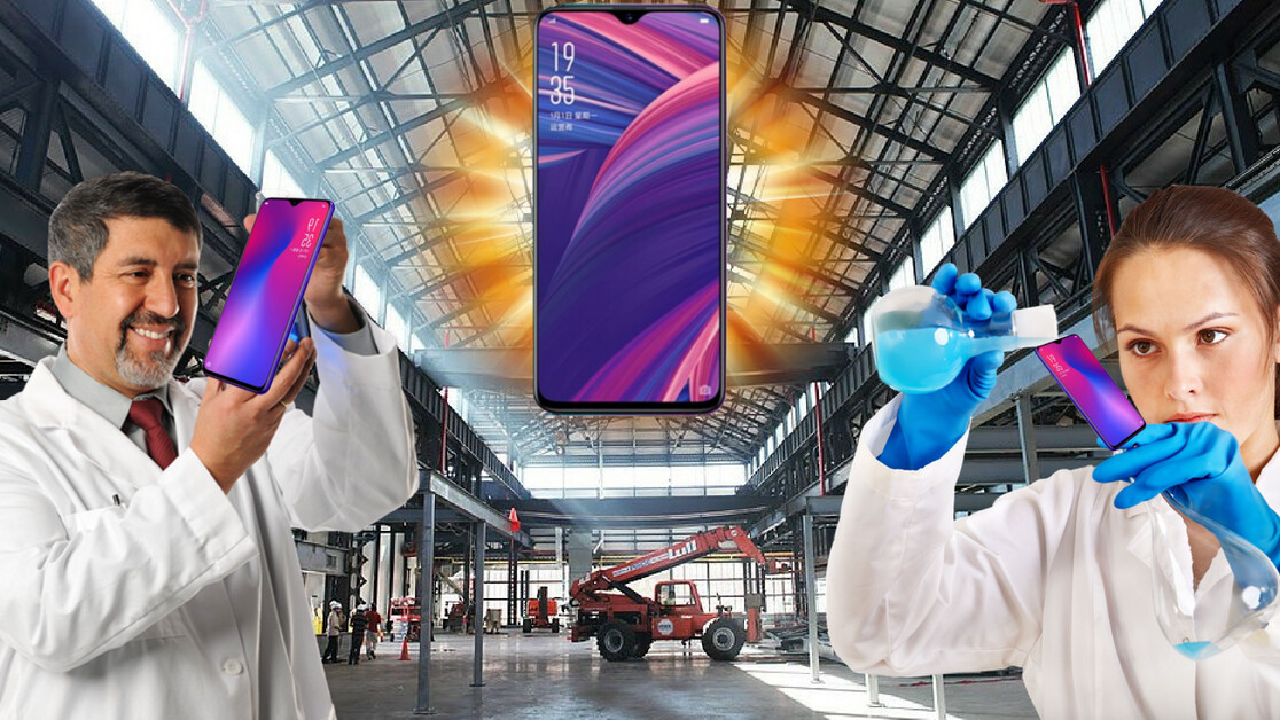 OPPO's new R17 phone has a teensy-tiny, itsy-bitsy little notch