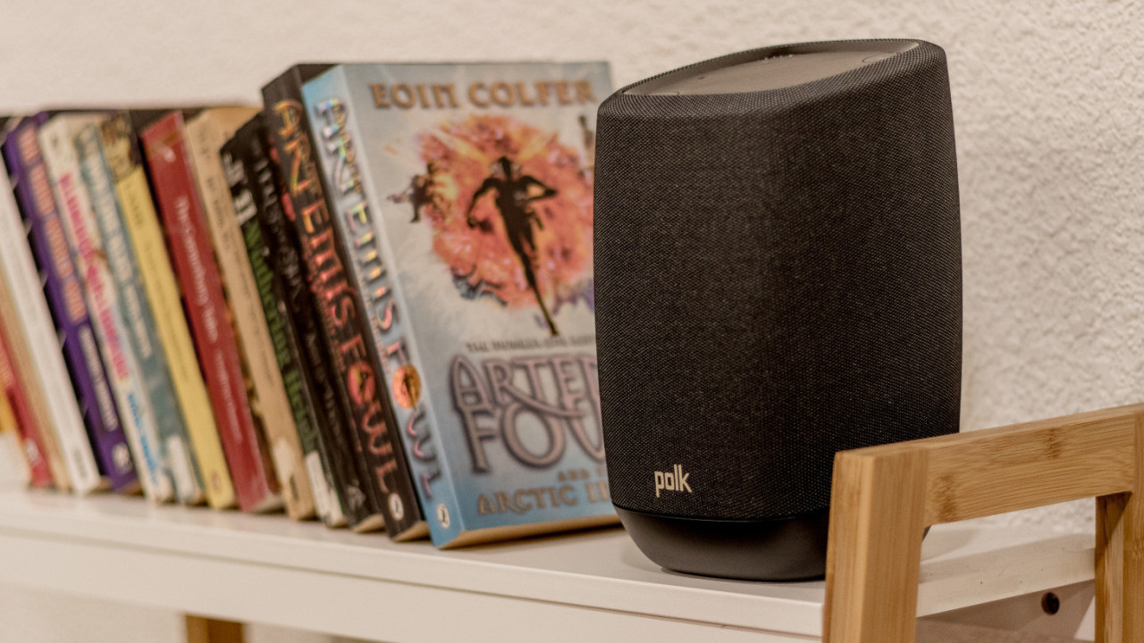 Polk's Assist is a better sounding Google Home for $200
