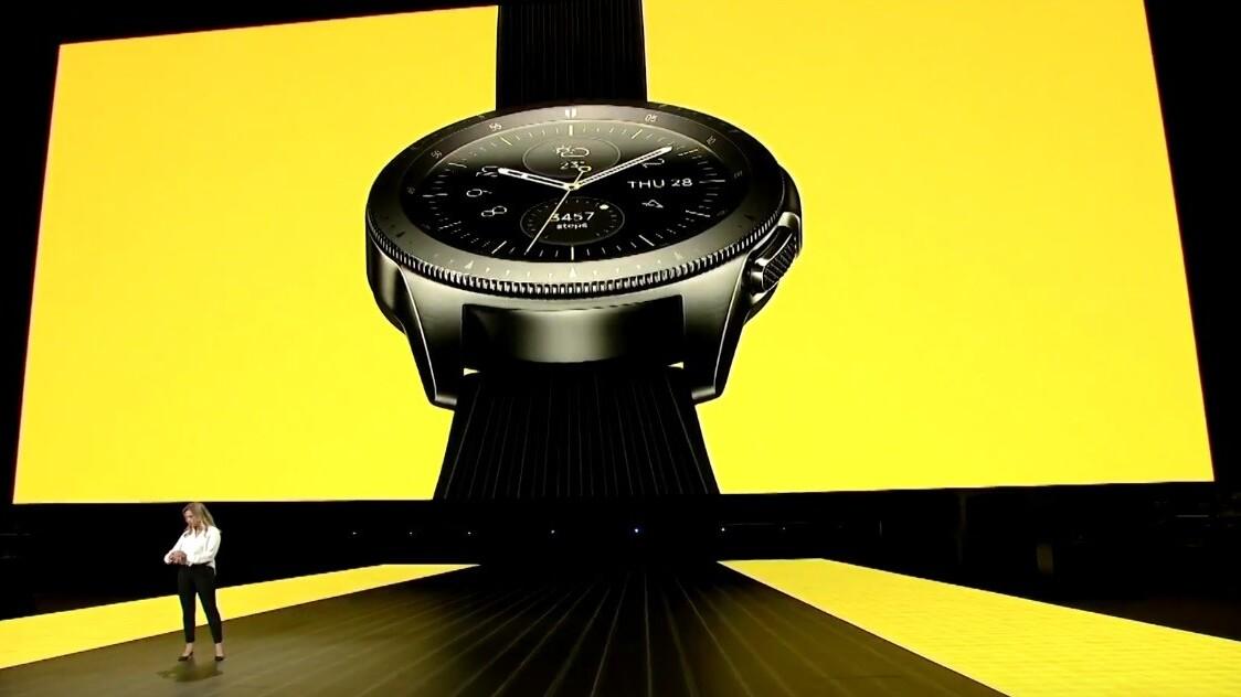 Samsung finally unveils its much-anticipated Galaxy Watch