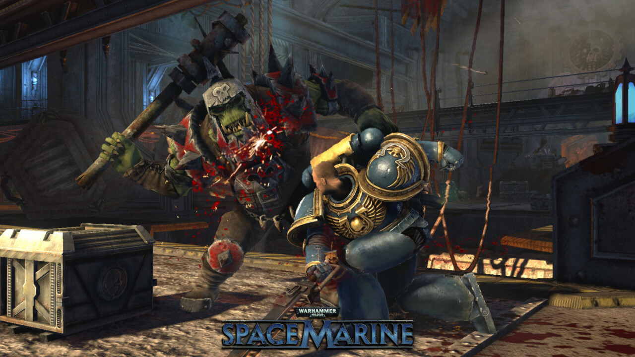 The excellent Warhammer 40,000: Space Marine is free on PC today
