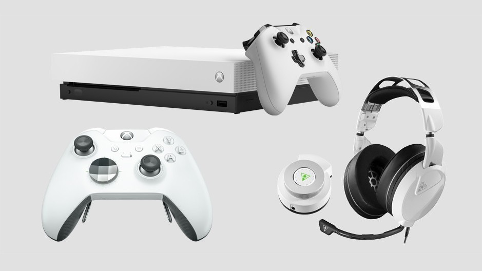 The Xbox One X and Elite Controller now come in a clean white for ~~aesthetics~~