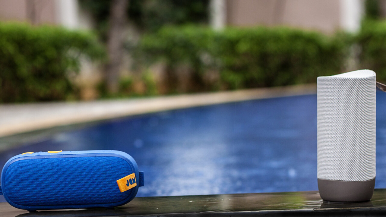 Jam's cheap splashproof speakers cleverly hide charging cables for hassle-free portability