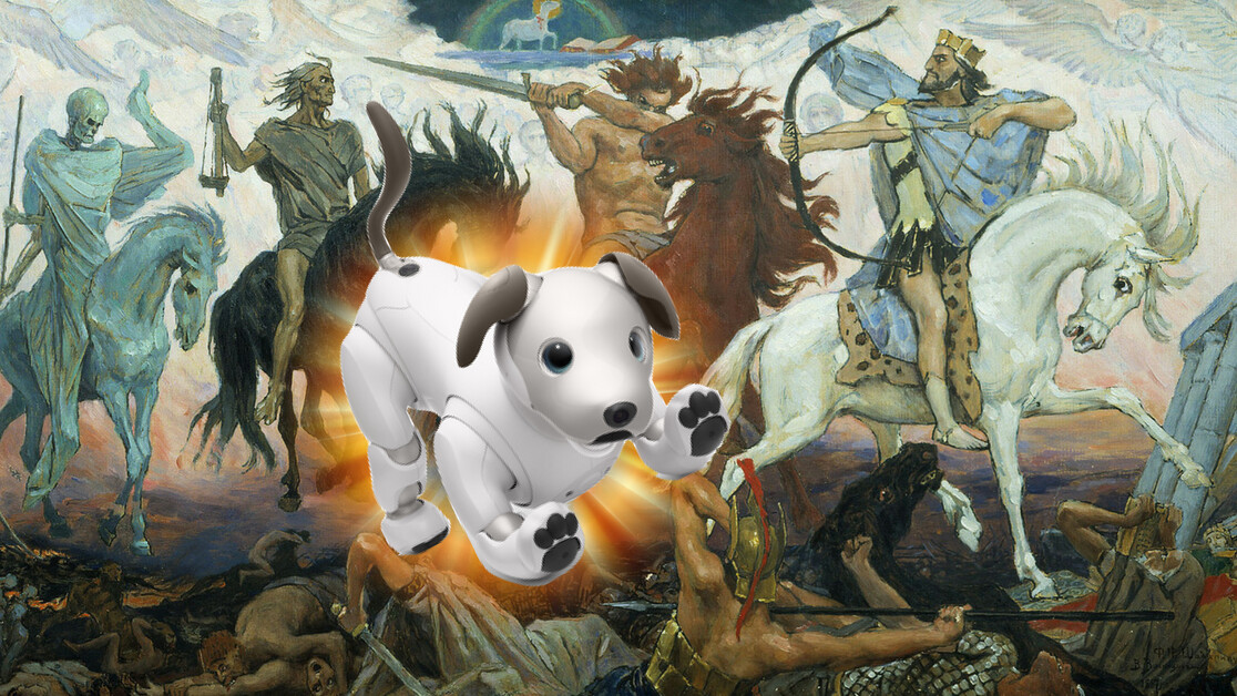 Could Sony's new aibo be the harbinger of the Apocalypse?