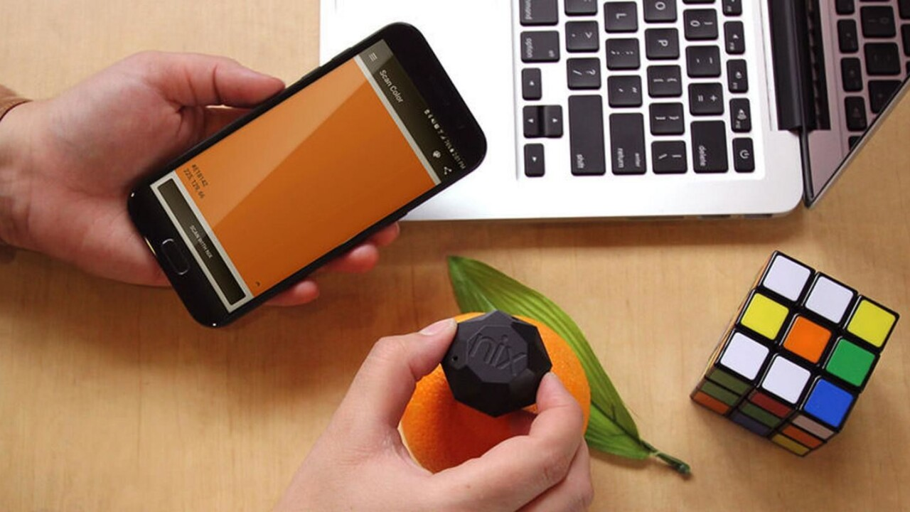 Never guess about the right color again — the Nix Mini Color Sensor is $30 off