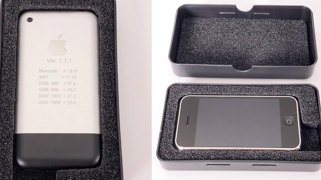 Ebay auction for iPhone prototype hits $25K overnight
