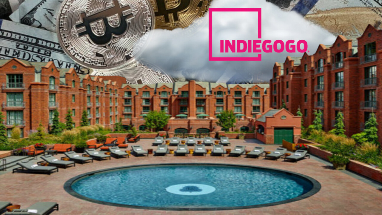 Indiegogo launches its first token sale, but it's for millionaires