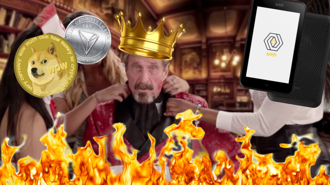 John McAfee is a PR machine for shitty cryptocurrencies