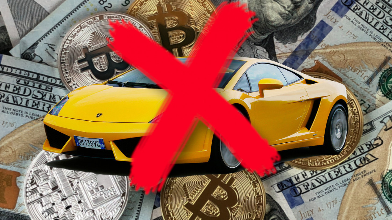 Not a Lambo' is a meme competition for broke Bitcoiners