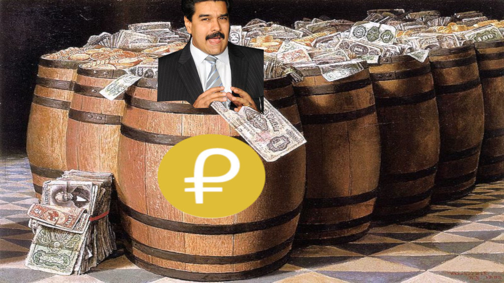 President Maduro is forcing Venezuelan banks to use his dodgy cryptocurrency