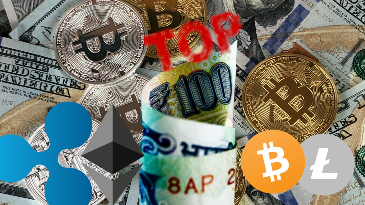 Most of the top 100 cryptocurrencies don't actually have a working product