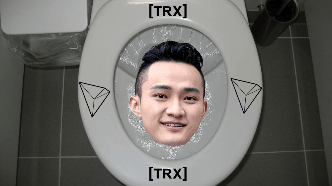 TRON redefines 'shitcoin' by putting smart toilets on the blockchain