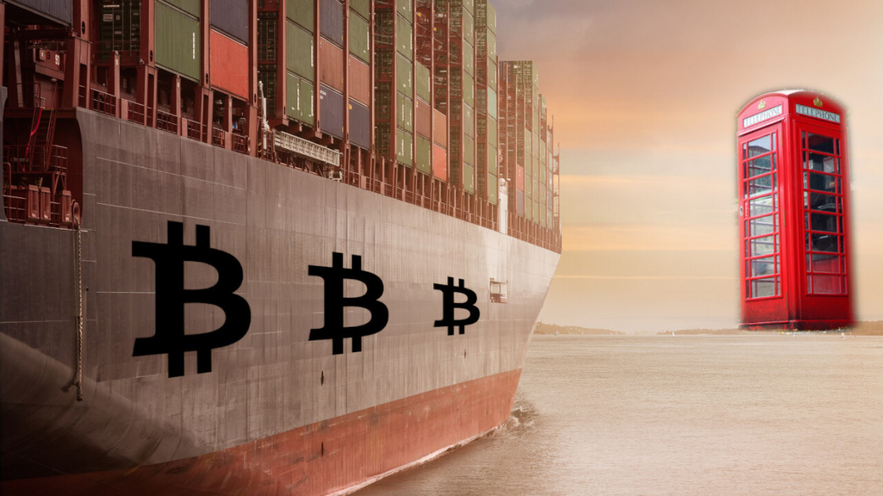 UK shipping giant floats blockchain as a solution to sink supply chain woes