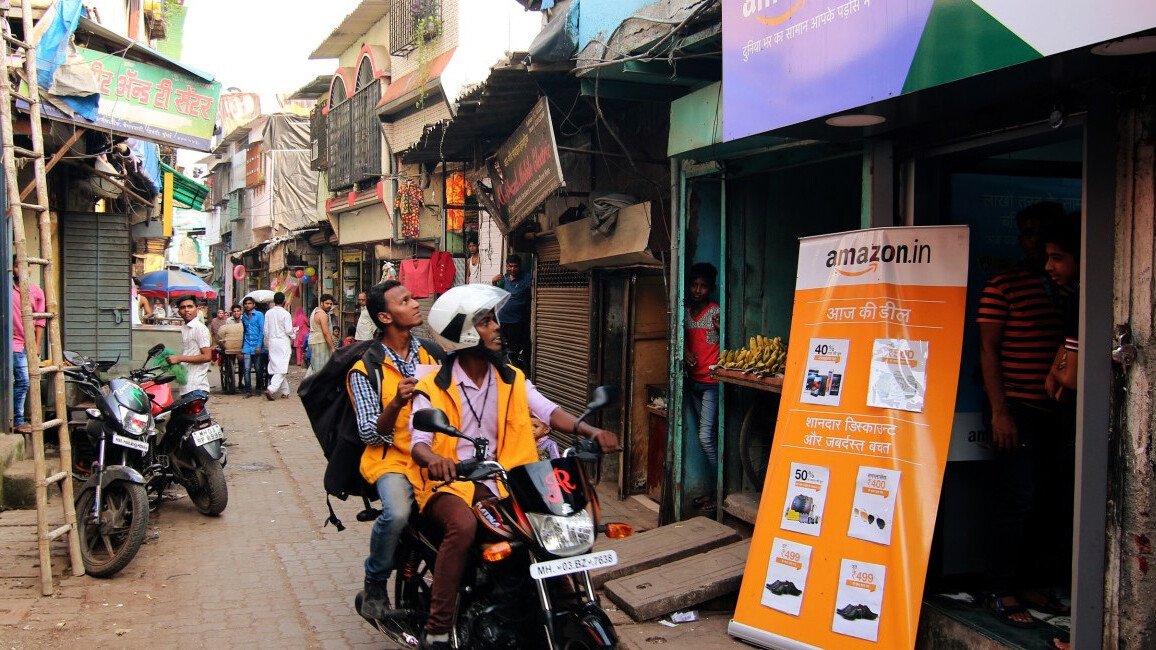 Amazon launches a Hindi site to lure India's next 100 million online shoppers