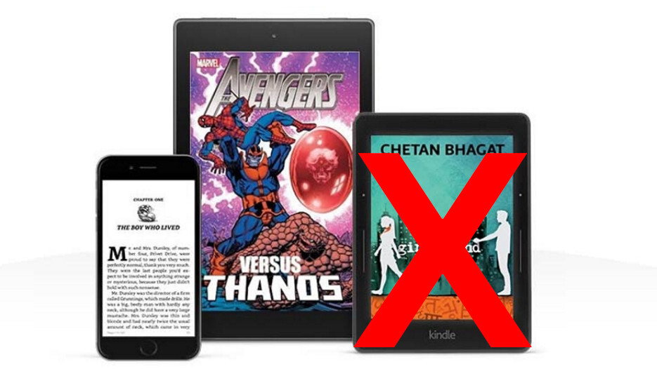 Amazon Prime Reading brings a half-decent selection of free ebooks to India