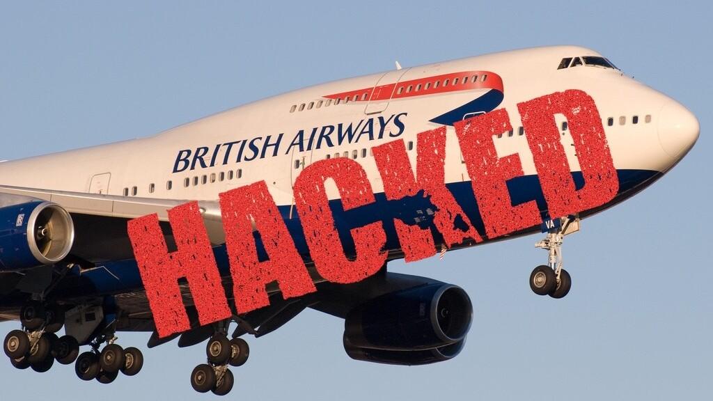 Hackers hijack 380,000 customers' data from British Airways' site
