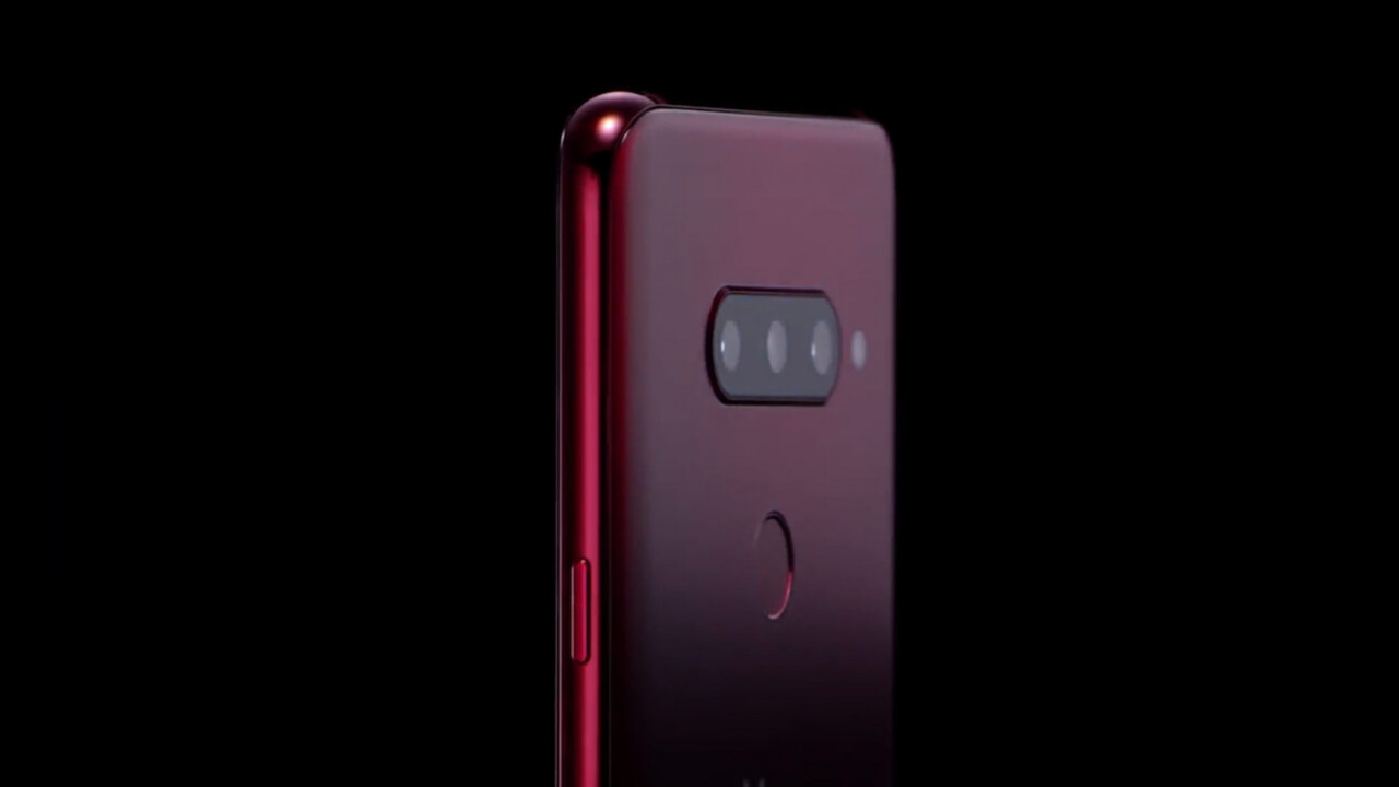 LG couldn't wait to show off its five-camera V40 ThinQ phone
