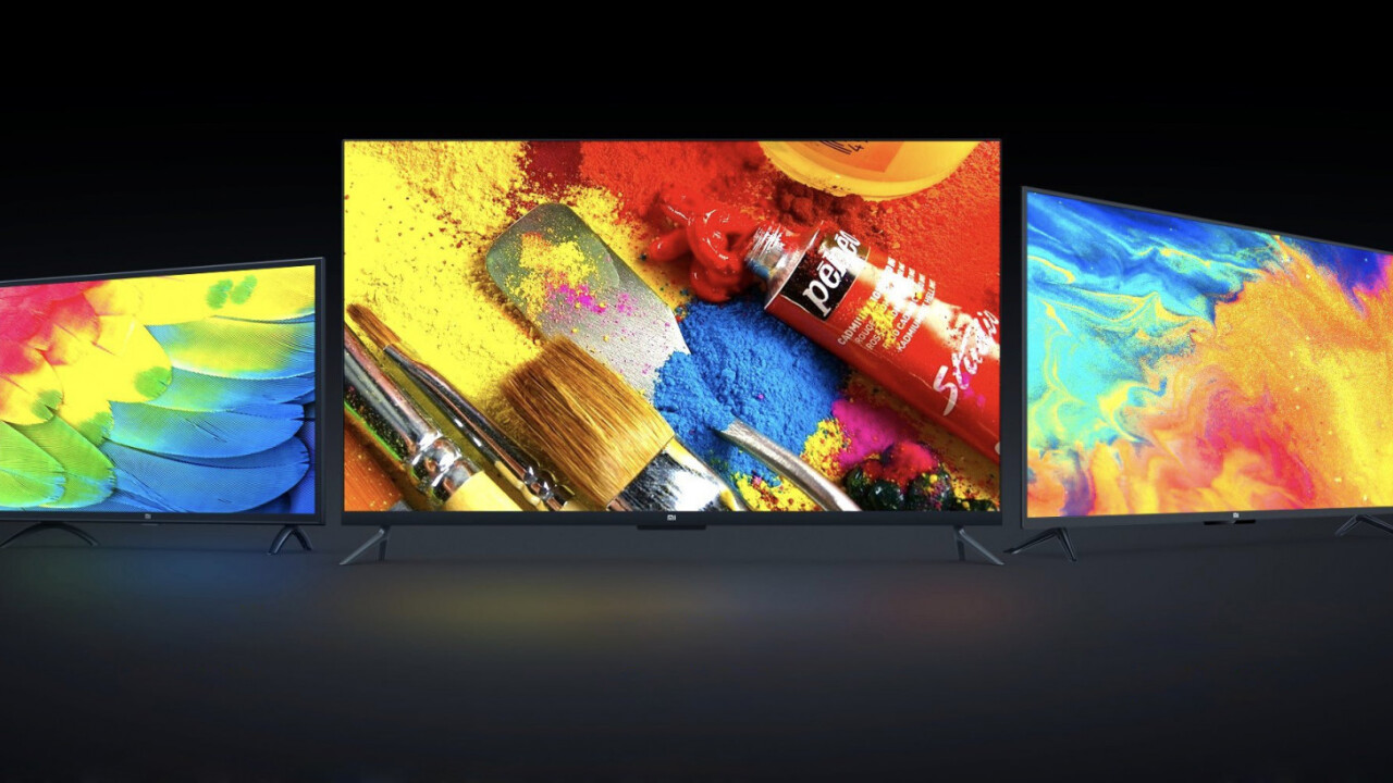 Xiaomi's new smart TVs are cheap and feature-rich – too bad they can't play Netflix (Update: Maybe they will)