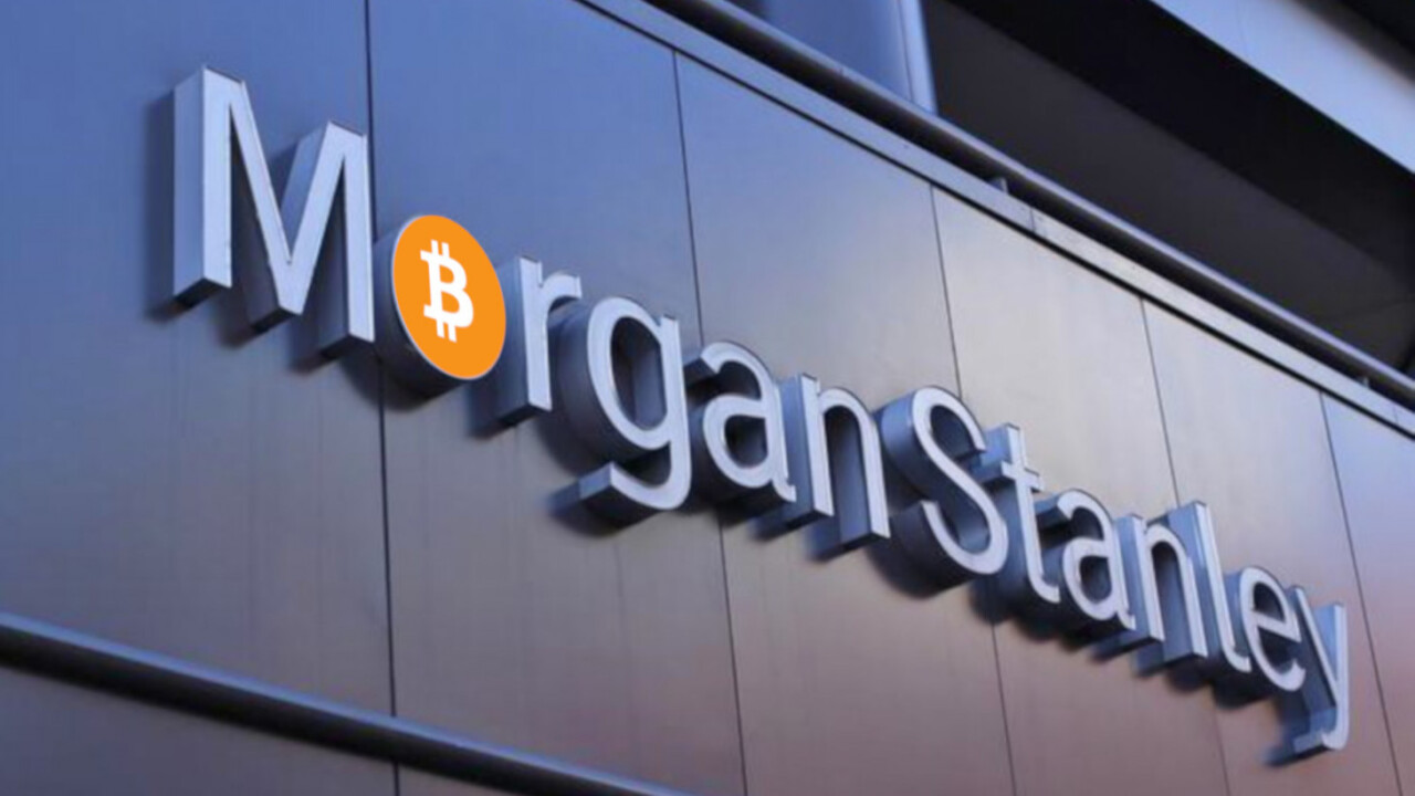 Morgan Stanley says Bitcoin is a new type of asset