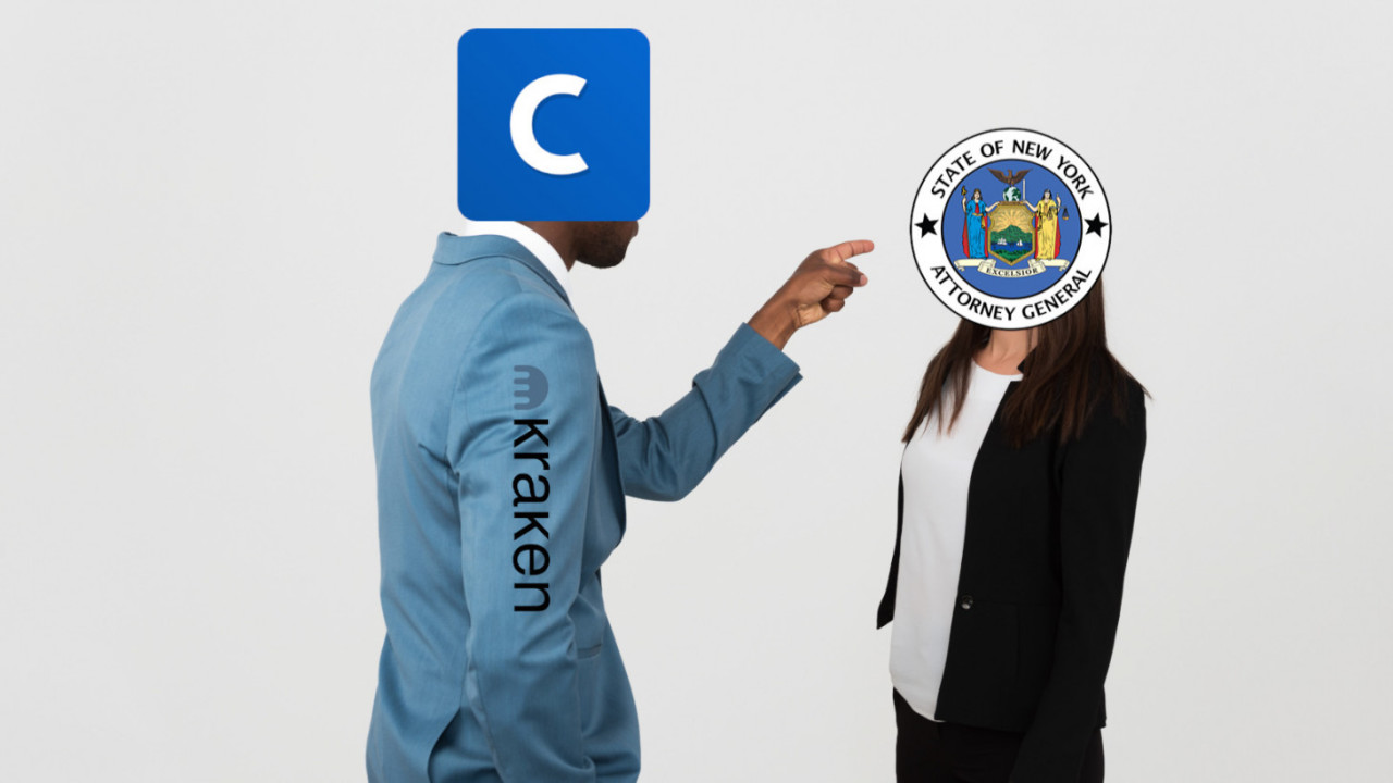 Coinbase and Kraken hit back at NY Attorney General's scathing criticism