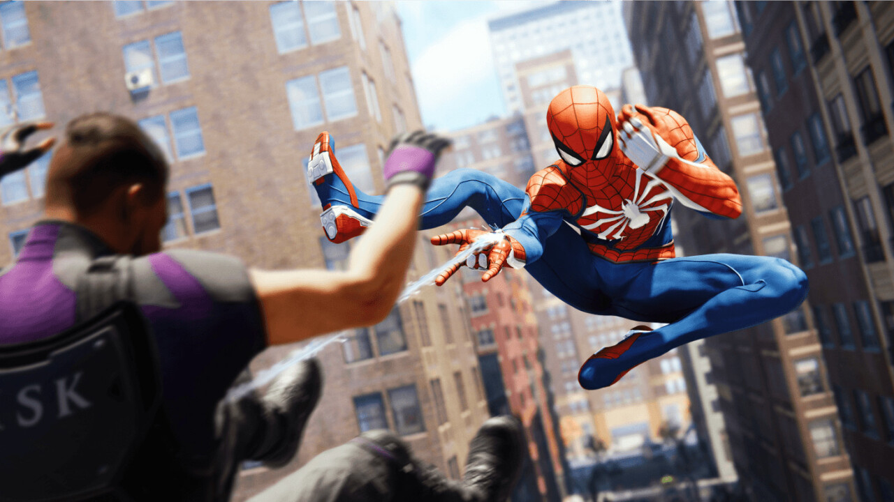 Sony shows off PS4 Spider-Man game on PS5