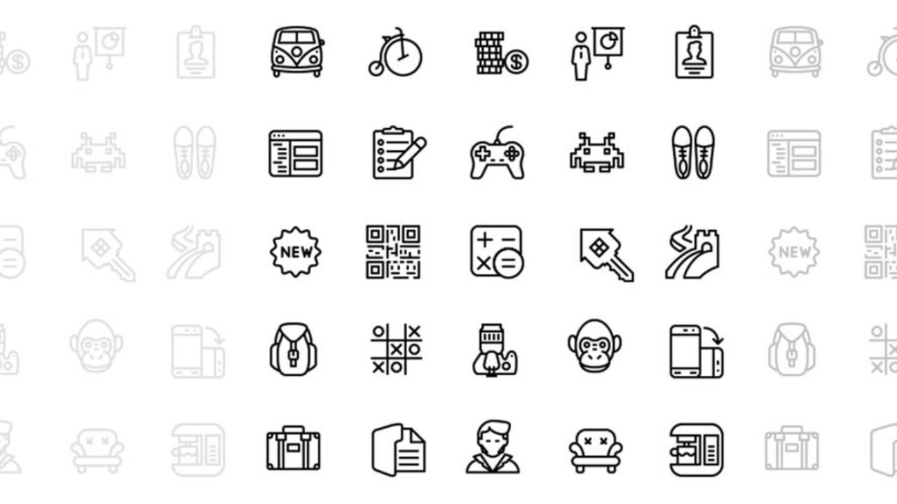 Find just the right icon (over 5,000 of 'em!) for your web and mobile designs now for $19