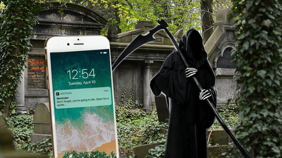 You're going to die. This app reminds you 5 times a day