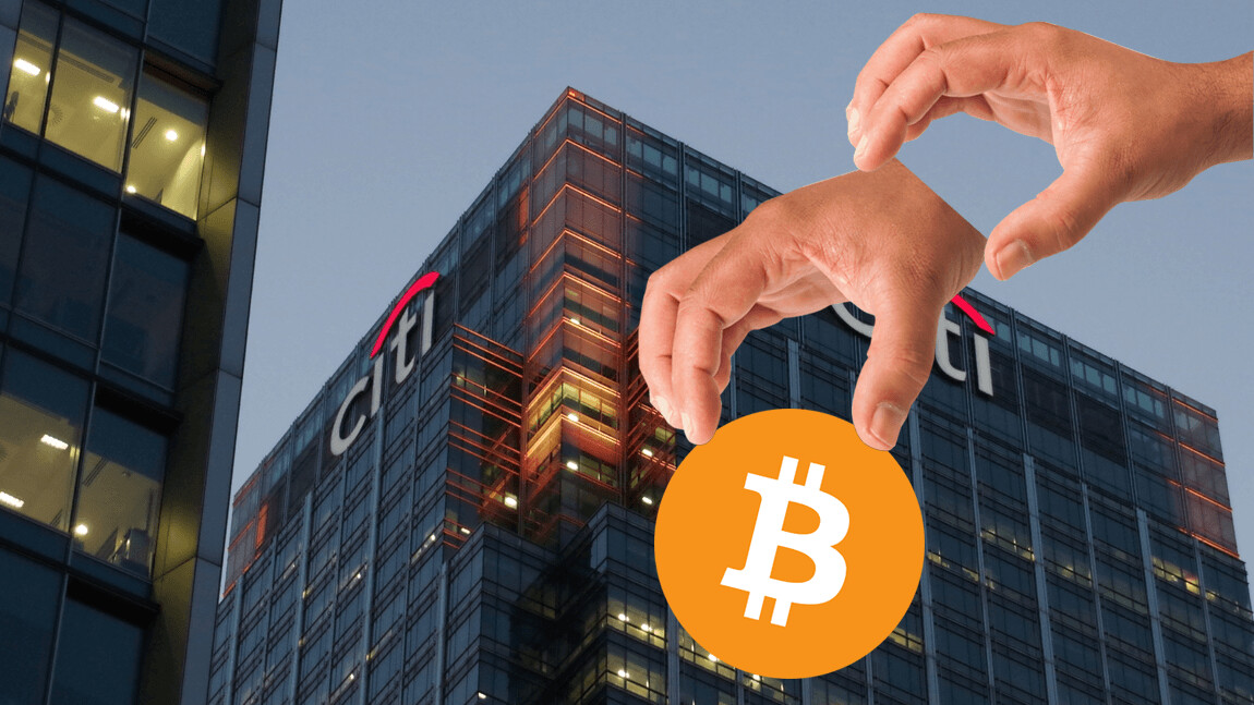 Citigroup is making cryptocurrency investments less risky for Wall Street