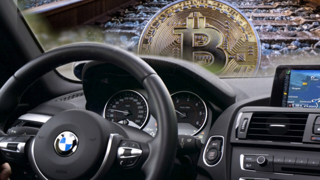 BMW steps on the gas to define its 'blockchain strategy' with new startup accelerator program