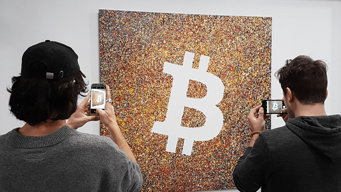 French artists celebrate 10 years of Bitcoin with cryptocurrency art exhibition