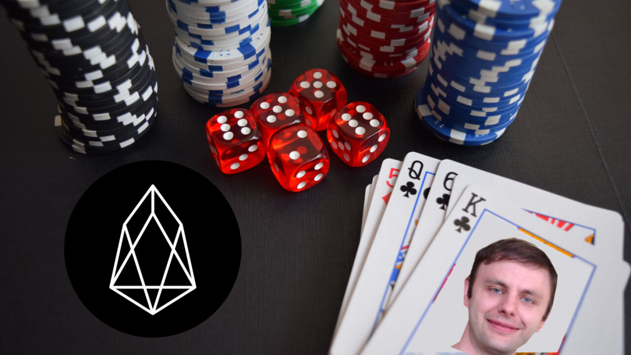 EOS-powered dice game pays out $600K to one user in just 36 hours