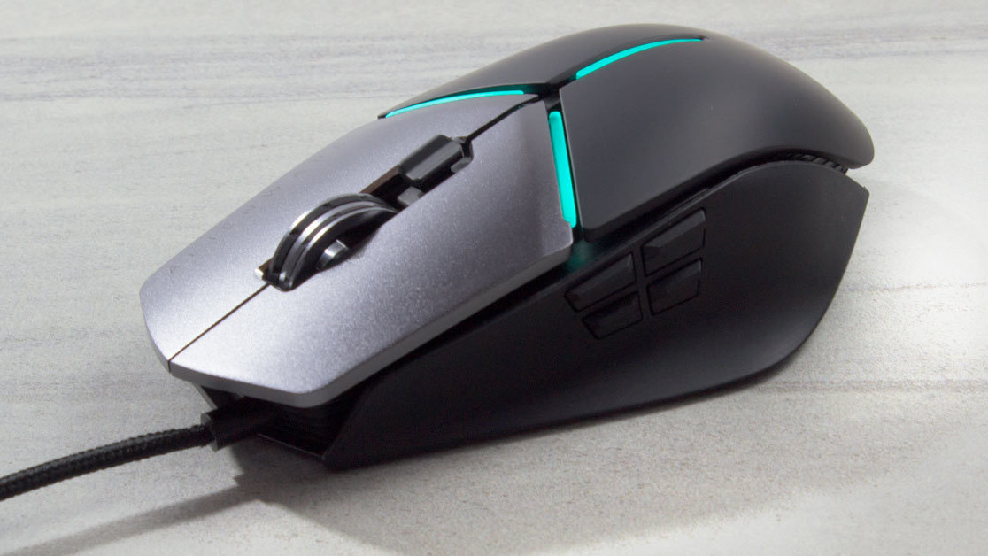 e83b596c1a7 Alienware's Elite Gaming Mouse feels like a winner in these giant hands of  mine