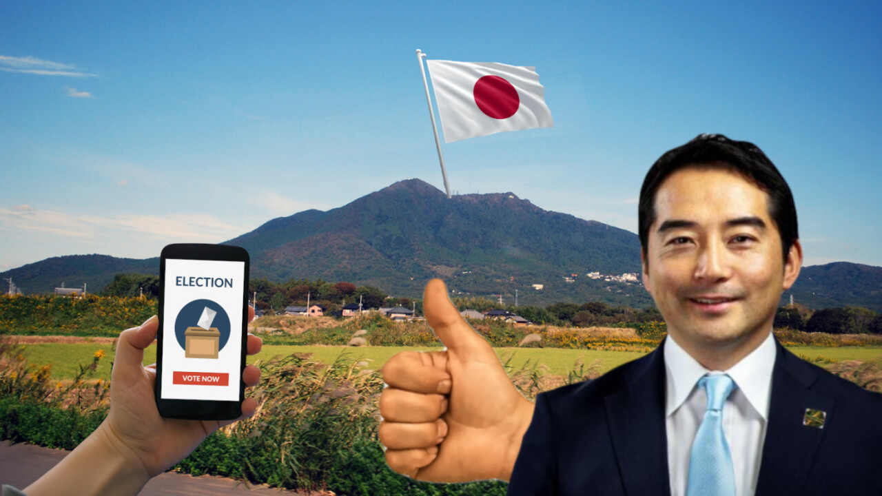 Japan is experimenting with a blockchain-powered voting system