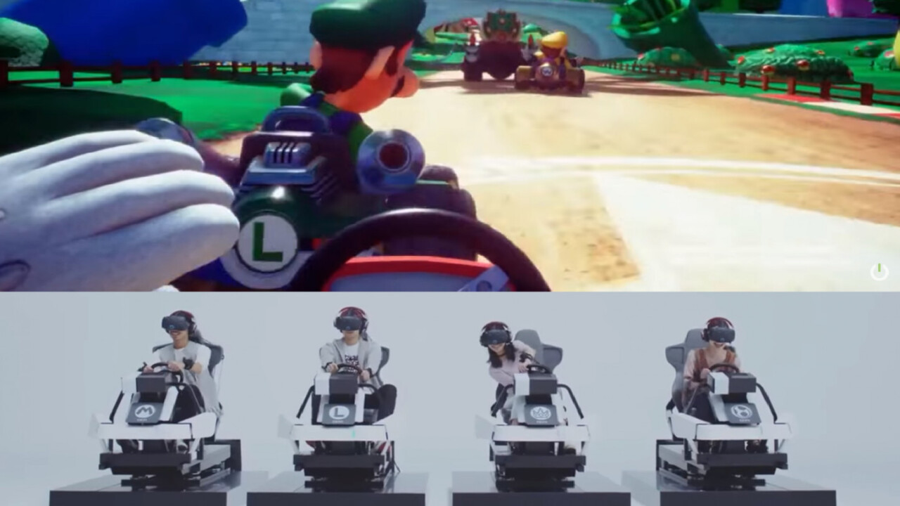 Mario Kart Arcade GP VR is coming to the US