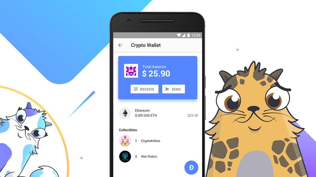 You can now send CryptoKitties (and other collectibles) with Opera's cryptocurrency wallet