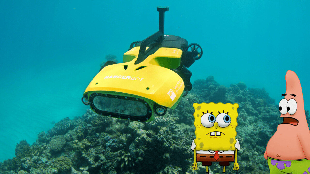 This underwater death machine has one mission: Destroy the starfish