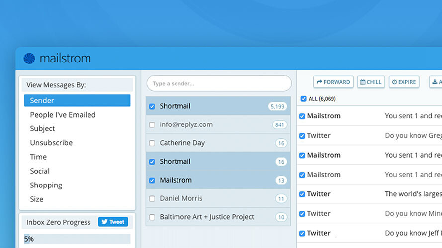 No inbox is too untamed for Mailstrom Pro. Let it manage your emails for life for over 90% off