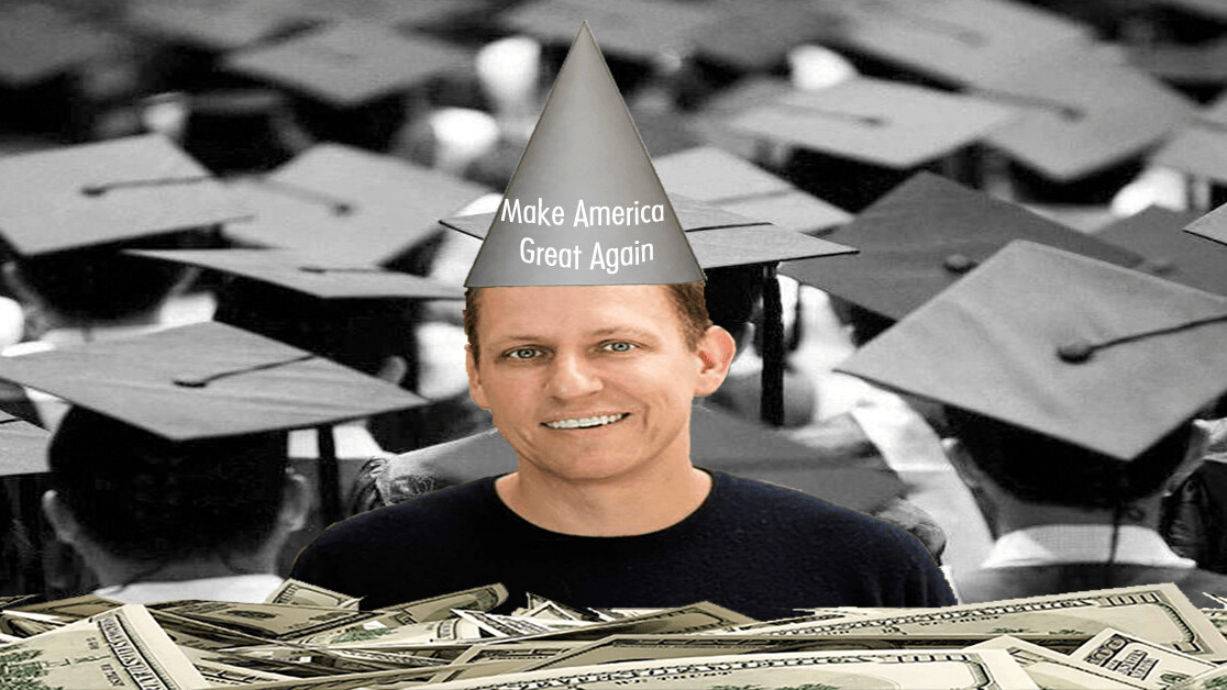 Peter Thiel's attacks on higher education are boring