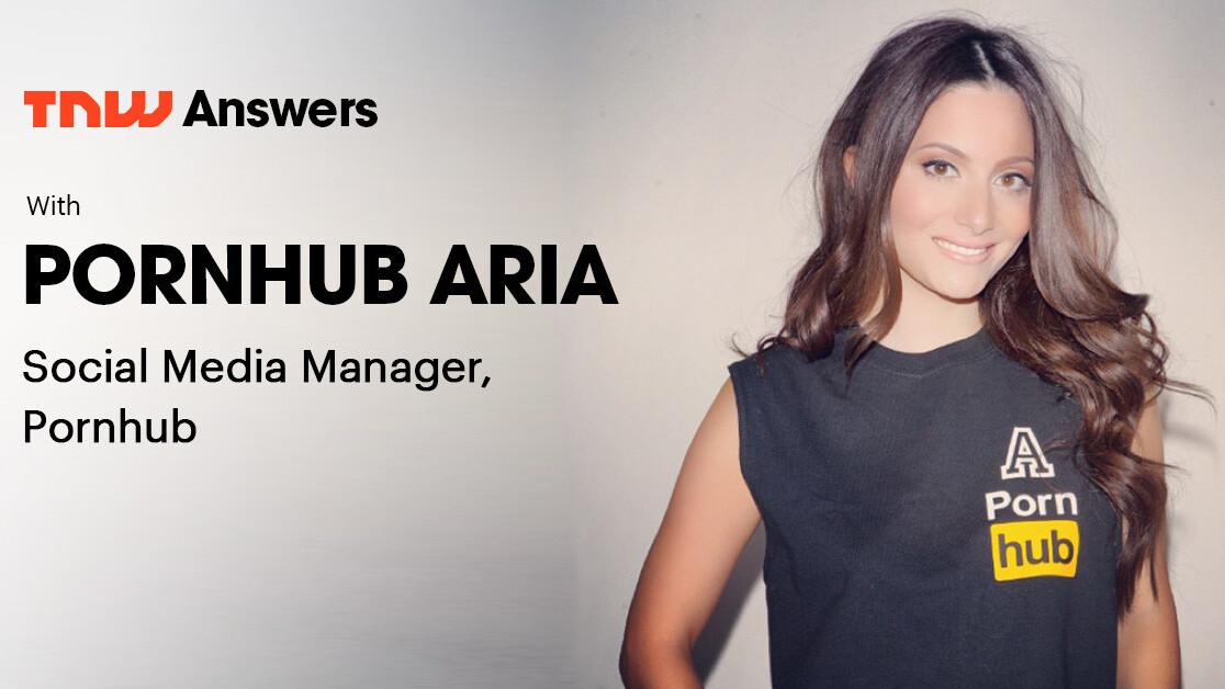 Meet Aria, the (SFW) face of Pornhub