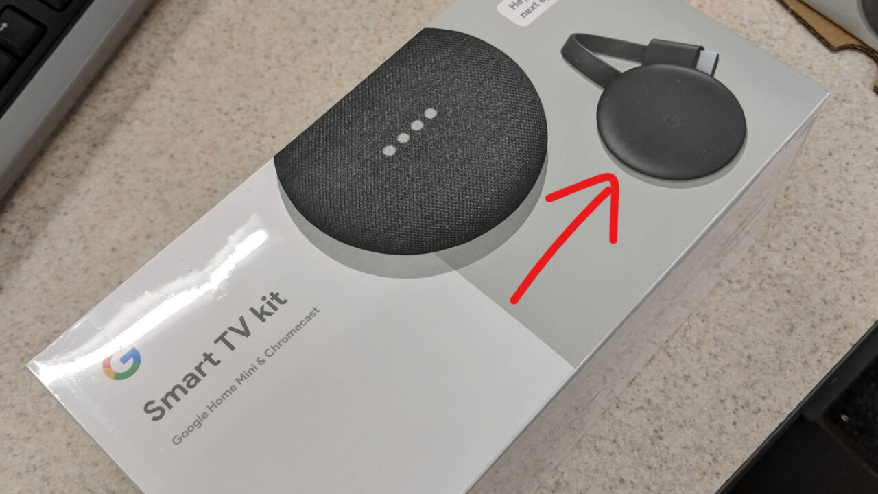 New Google Chromecast shows up in yet another leak before Pixel event