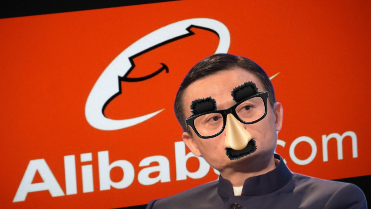 Alibaba finally got its shitcoin namesake to drop its name