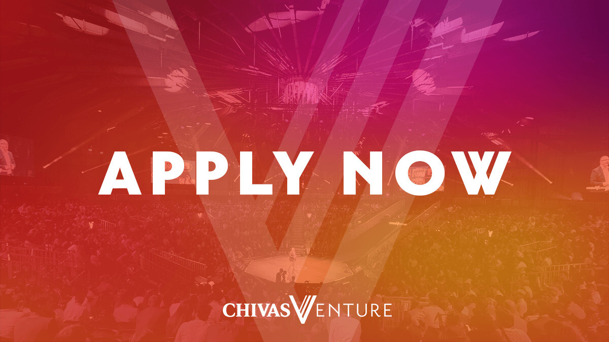 Startups that blend profit with purpose can apply to win a share of $1 million in funding at Chivas Venture 2019