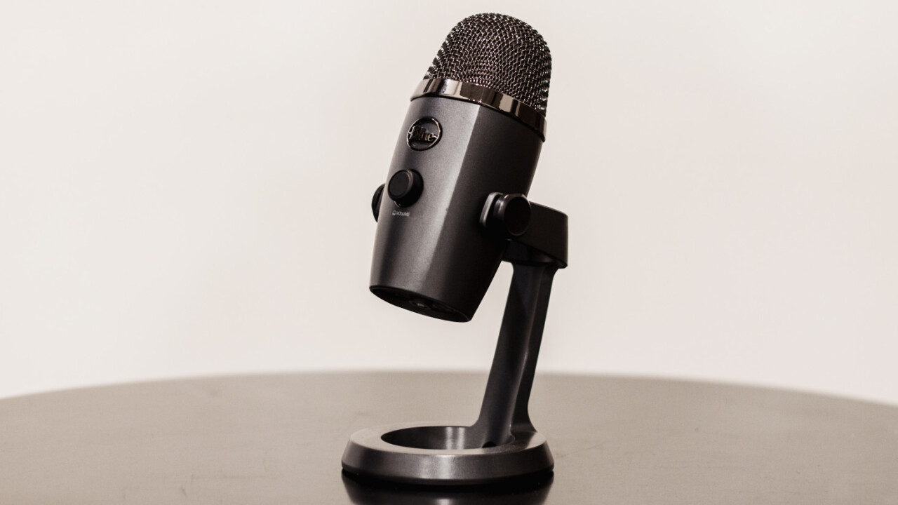 Blue's compact Yeti Nano is perfect for rookie podcasters and streamers