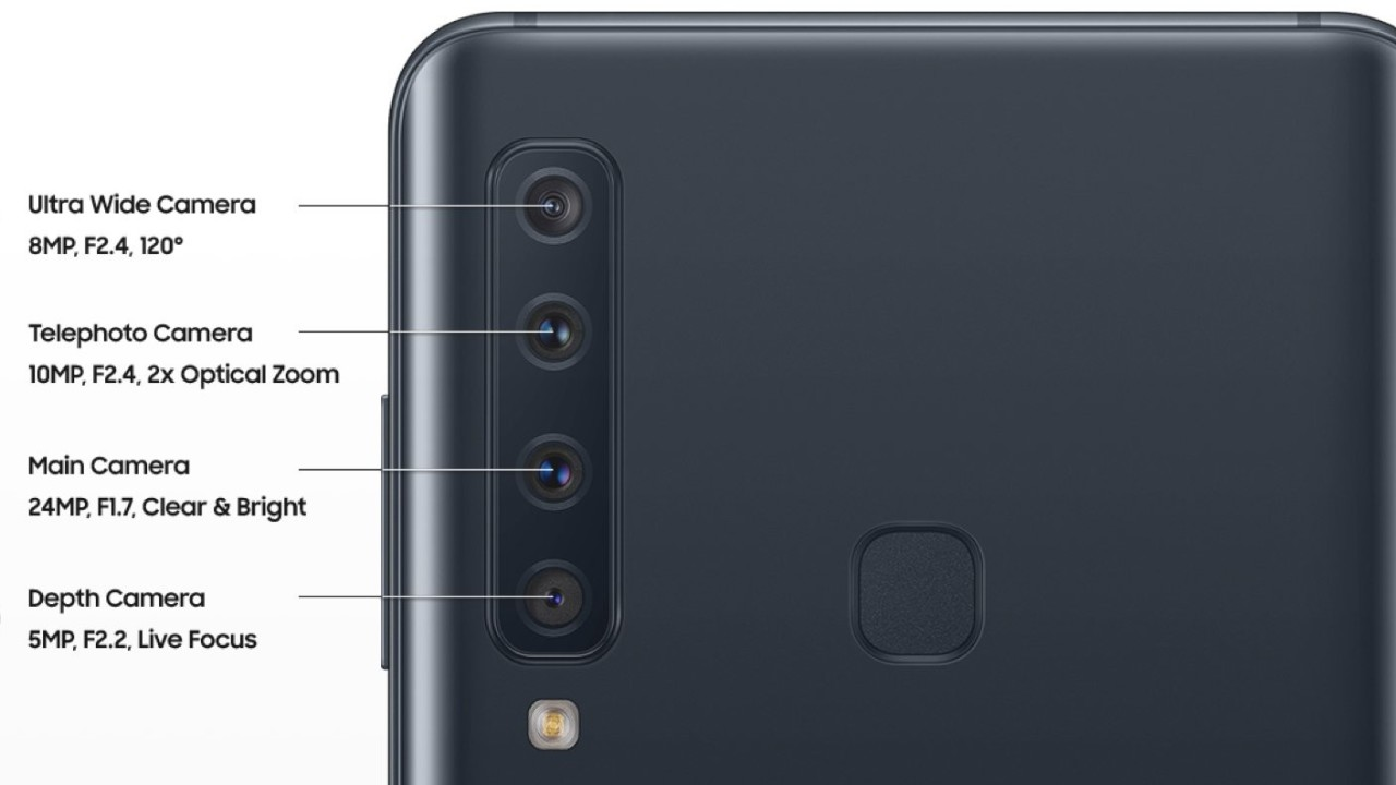 Samsung A9 Pro's 4 cameras may include telephoto, ultra-wide, and depth-sensing optics