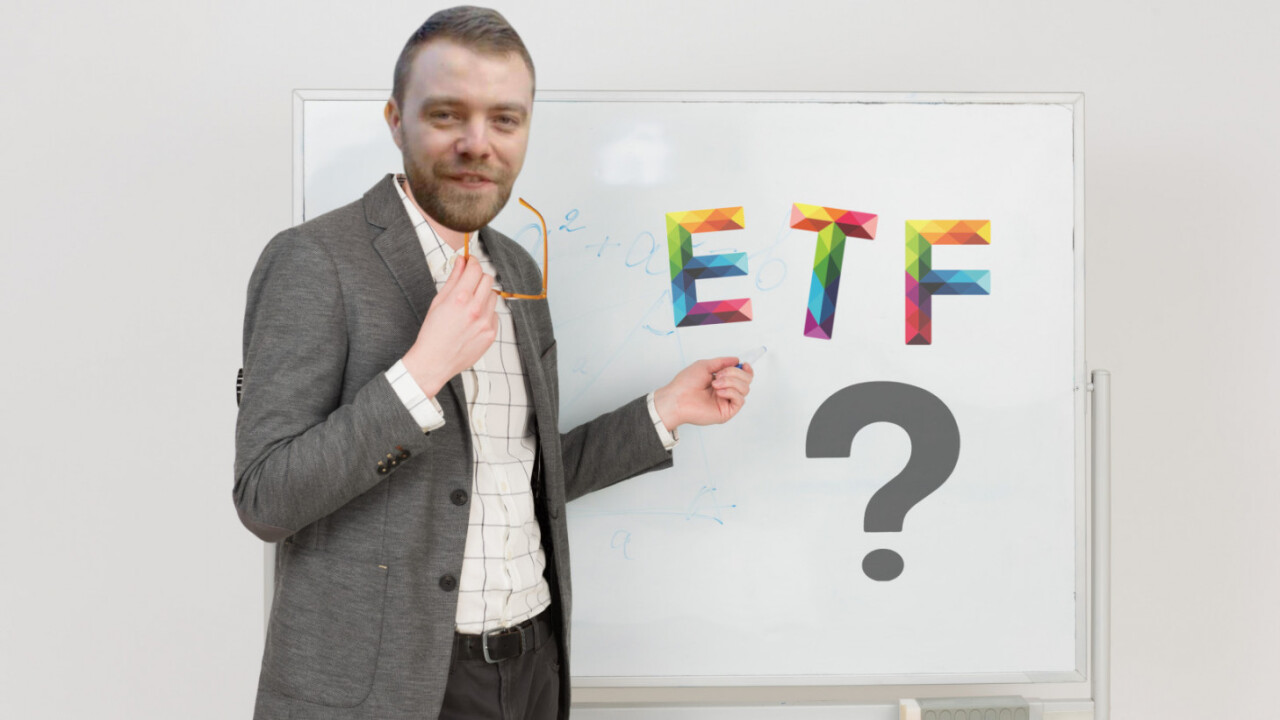 Here's what a cryptocurrency ETF is (you're welcome)