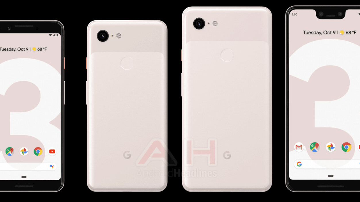Yet another Pixel 3 leak shows off new 'Sand' (AKA pink) color