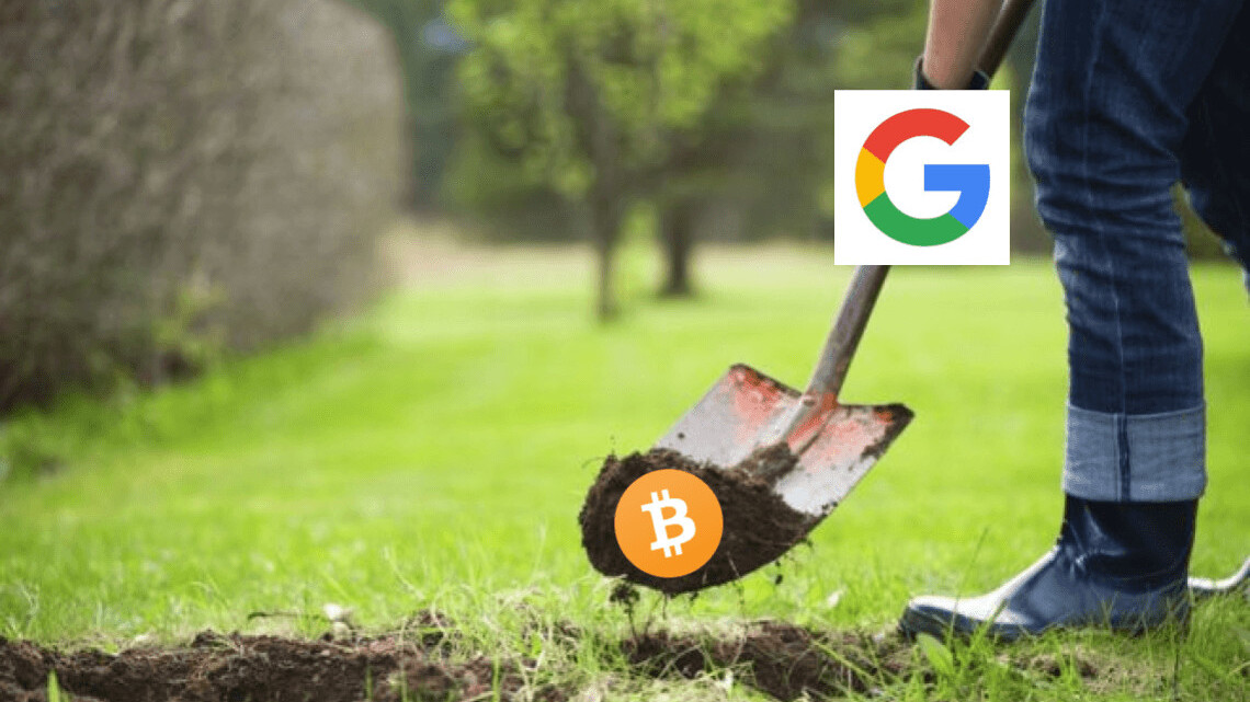 Google mocks miners, says cryptocurrency 'isn't real money'