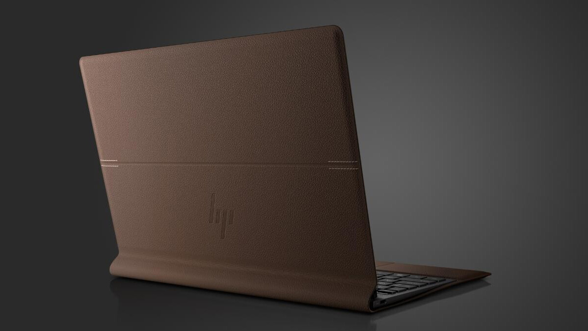 HP's bringing sexy back with its new leather-wrapped laptop