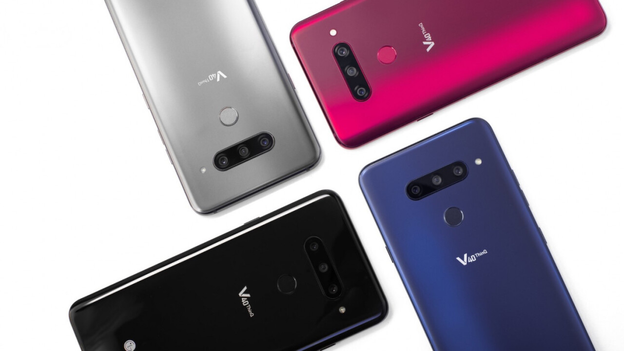 The 5 cameras on LG's V40 ThinQ are fun, but not perfect